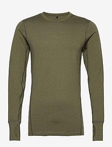 Leknes merino wool sweater - basic-strickmode - four leaf
