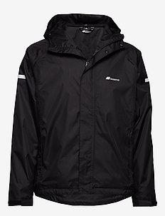 Føyno   2-layer Teachnical Rain Jacket - BLACK