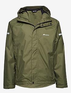 Føyno   2-layer Teachnical Rain Jacket - outdoor & rain jackets - four leaf