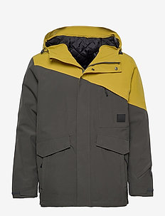 Holsen 2-layer technical jacket - outdoor- & regenjacken - dark grey