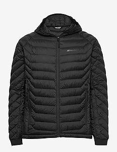 Salen light down jacket - outdoor- & regenjacken - black