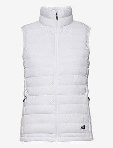 Dalen Vest - puffer vests - white