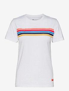 Stølsfjell Organic Cotton T-shirt - t-shirts - white