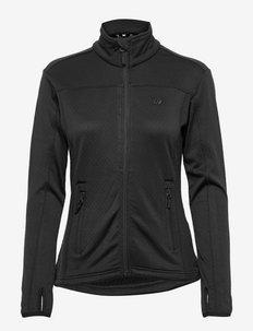 Rød Technical fleece jacket - wandel- en regenjassen - black