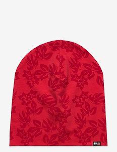 Mesna Cotton Beanie - mössor - hibiscus red pr