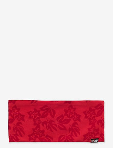 Vindgulen Cotton Headband - pannband - hibiscus red pr