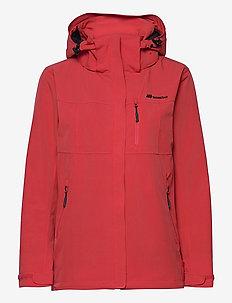 Stadt 2-layer technical jacket - outdoor & rain jackets - hibiscus red