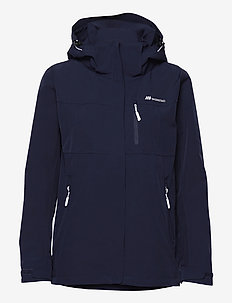 Stadt 2-layer technical jacket - outdoor & rain jackets - prime navy