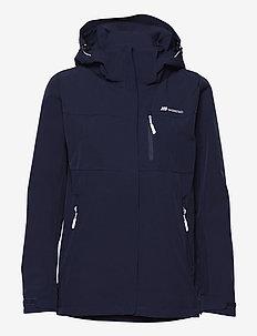 Stadt 2-layer technical jacket - kurtki turystyczne - prime navy