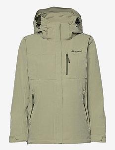 Stadt 2-layer technical jacket - outdoor & rain jackets - tea