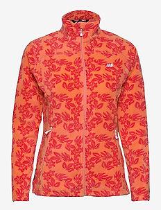 Tinnhølen Microfleece Jacket - outdoor & rain jackets - melon pr