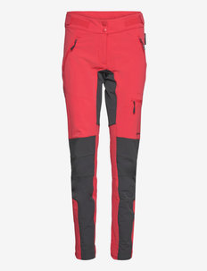 Ringstind Hiking Trouser - outdoorbukser - hibiscus red