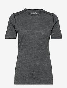 Dalsnibba Merino wool t-shirt - t-shirty - grey melange