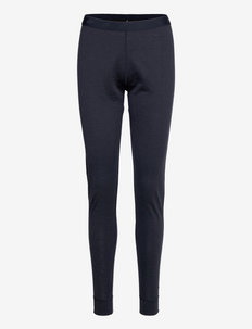 Jardalen Merino wool longs - spodnie termoaktywne - dark navy