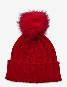 Trysil knitted hat - beanies - high risk red