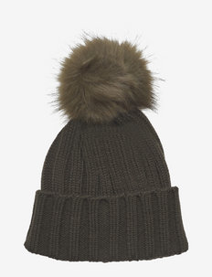 Trysil knitted hat - beanies - ivy