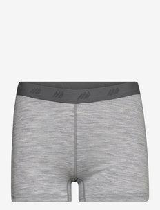 Mysen Merino wool hipster - slips - grey melange