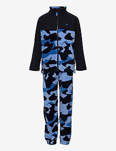 Trone microfleece set - outerwear - french blue pr