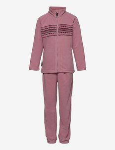 Fongen microfleece set - outerwear - lilas