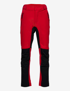 Tinden hiking trousers - softshell-hosen - high risk red