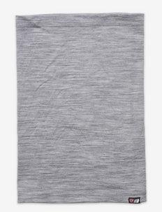 Reksjå merino wool neck gaiter - colsjaals - casio grey