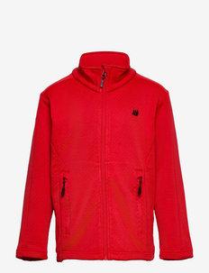 Ervadalen technical fleece jacket - isolerede jakker - high risk red