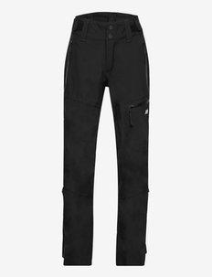 Narvikfjellet 3-layer technicall shell trousers - shell- & regenbroeken - black