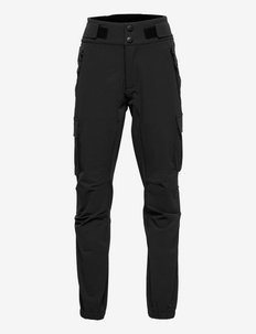 Istrehågen hiking trousers - softshell-hosen - black
