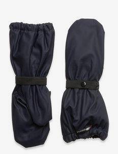 Vigra PU rain mittens - handsker & vanter - dark navy