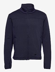 Høgde Technical Fleece Jacket - outdoor- & regenjacken - prime navy