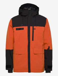 Nykksdalen 2-layer technical jacket - kurtki turystyczne - brick
