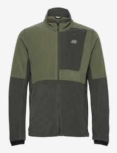 Kleivane Microfleece jacket - fleece - four leaf