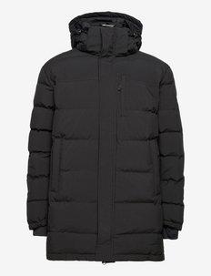 Nydalen Down jacket long - friluftsjackor - black