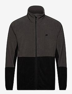 Kleivane Microfleece jacket - basic sweatshirts - dark grey