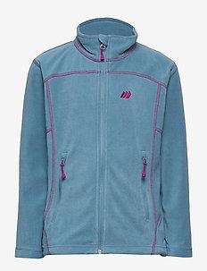 Tresfjord  Microfleece Jacket - polar - dusk blue