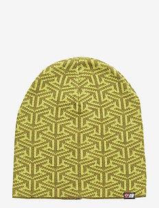 Maradalen knitted hat - ACID LIME PR