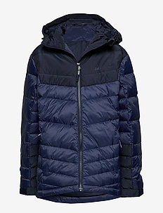 Huruset down jacket - BRIGHT DENIM