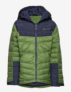 Huruset down jacket - GARDEN GREEN