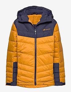 Huruset down jacket - daunen- und steppjacken - oker