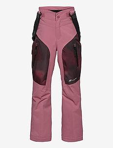 Gaustadblikk 2-layer technical ski trousers - overtræksbukser - heather rose
