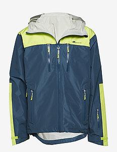 Kirkestinden 2,5-layer technical shell jacket - skijacken - blue teal