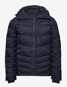 Selvågen down jacket - ANTRACITT