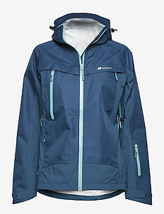 Rondane 3-layer technical shell jacket - BLUE TEAL