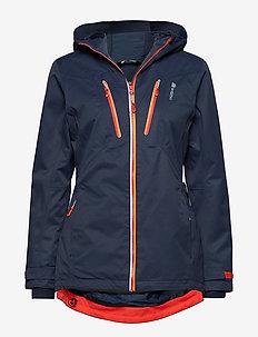 Halkebakken 2-layer technical jacket - ANTRACITT