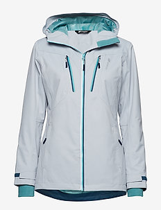 Halkebakken 2-layer technical jacket - COLD LIGHT GREY
