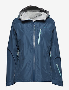 Hornstinden 2,5-layer technical shell jacket - laskettelutakki - blue teal