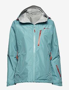 Hornstinden 2,5-layer technical shell jacket - kurtki narciarskie - bristol blue