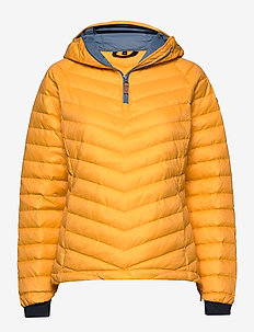 Hemsedal Light Down Anorak - SAFFRON