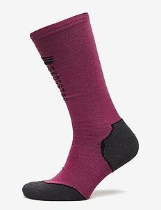 Frostisen  ski socks - MAGENTA