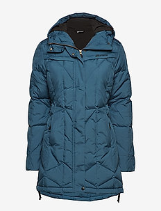 Moseter down coat - parkas - blue teal
